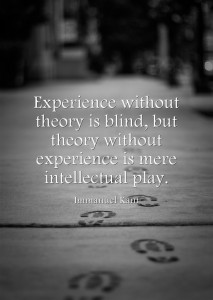 Experience-without-theory